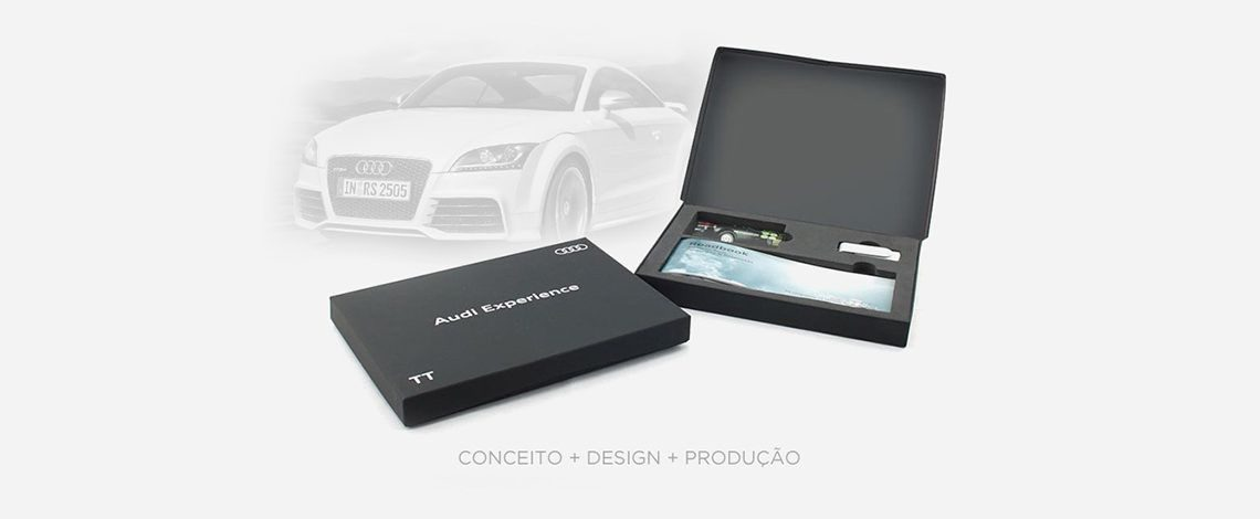 Audi - Welcome Pack - Packaging
